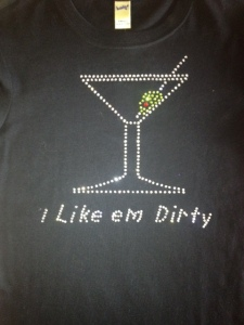 RHINESTONE SHIRTS and CUSTOM RHINESTONE T SHIRT
